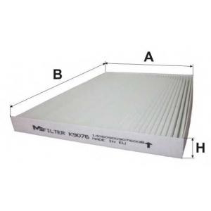 M-FILTER K9076 Фильтр салона NISSAN QASHQAI, X-TRAIL (пр-во M-Filter)