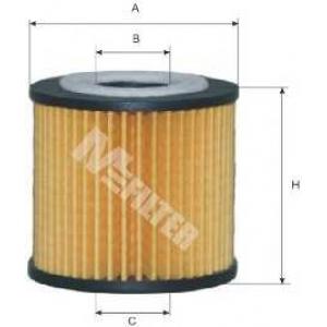 M-FILTER TE600 Фильтр масляный Skoda Fabia; Seat IbizaIV, Cordoba; Volkswagen Polo (пр-во M-filter)