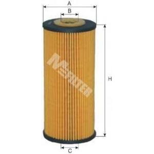 M-FILTER TE604 Фильтр масляный BMW 316I E36 1.6, 1.8  (пр-во M-filter)