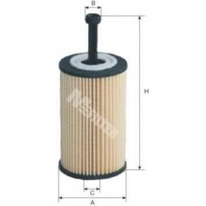 M-FILTER TE614 Фильтр масляный Citroen, Peugeot (пр-во M-filter)
