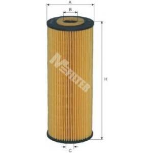 M-FILTER TE622 Фильтр масляный MB, SSANGYONG (пр-во M-filter)