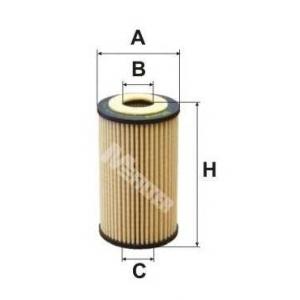 M-FILTER TE648 Фильтр масляный OPEL (пр-во M-filter)