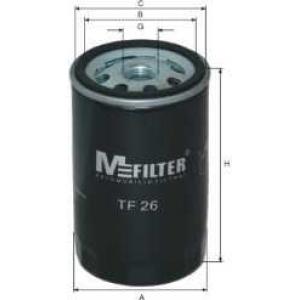 M-FILTER TF26 Фильтр масляный AUDI, SKODA, VW (пр-во M-Filter)