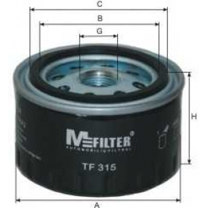 MFILTER TF315 Фильтр масляный