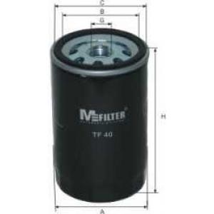 M-FILTER TF40 Фильтр масляный BMW (пр-во M-filter)