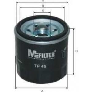 M-FILTER TF45 Фильтр масляный MAZDA, NISSAN, RENAULT (пр-во M-FILTER)