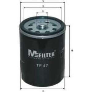 M-FILTER TF47 Фильтр масляный Opel Ascona, Astra, Kadet (пр-во M-filter)