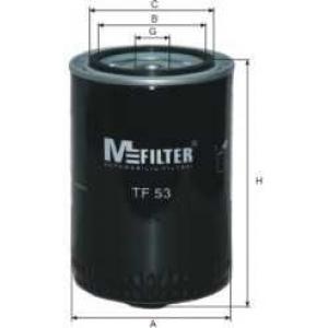 MFILTER TF53 Фильтр масляный