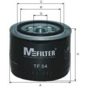 M-FILTER TF54 Фильтр масляный VOLVO (пр-во M-filter)