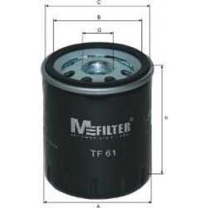 MFILTER TF61 Фильтр масляный