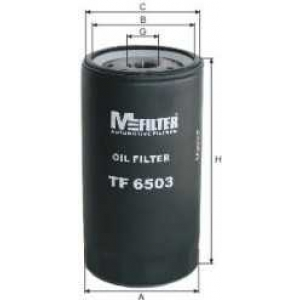 M-FILTER TF6503 Фильтр масляный  IVECO TRUCKS, NEW HOLLAND, RENAULT Axer (пр-во M-filter)