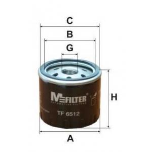 M-FILTER TF6512 Фильтр масляный OPEL Vivaro (пр-во M-filter)
