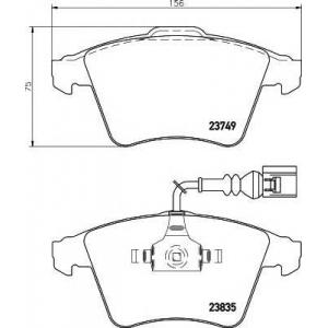 MINTEX MDB2745 Тормозные колодки