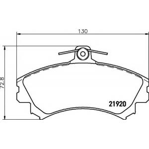 MINTEX MDB2766 ТОРМОЗНЫЕ КОЛОДКИ (дисков торм.)