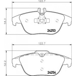 MINTEX MDB2845 Тормозные колодки