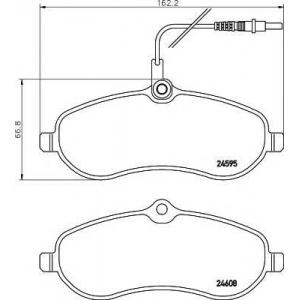 MINTEX MDB2901 ТОРМОЗНЫЕ КОЛОДКИ (дисков торм.)