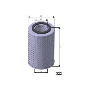 MISFAT F670 Фільтр паливний CITROEN/PEUGEOT/POLSKI/RENAULT DIZ