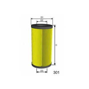 MISFAT L065 Фильтр масла ALFA ROMEO 159, BRERA, SPIDER; FIAT CROMA; LANCIA THESIS 2.4D 06.05-