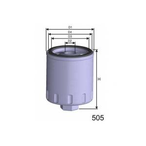 MISFAT M333 Фільтр паливний Bmw 324d/td 12/88-6/93,524td 12/88-