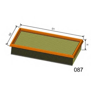 MISFAT P458 Air filter