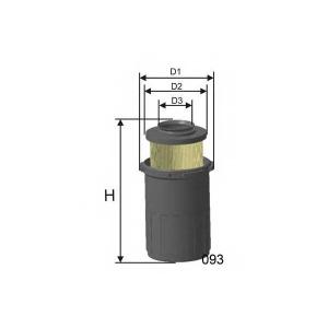MISFAT R521 Фільтр повітряний MERCEDES
