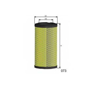 MISFAT R536 Air filter