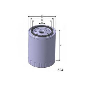 MISFAT Z211 Фільтр масляний двигуна