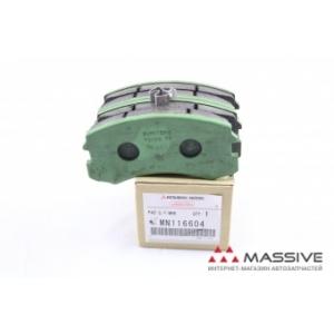 MITSUBISHI MN116604 Задние тормозные колодки MZ690185