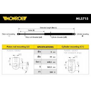 MONROE ML5715 G?zteleszk?p, motort?r fed?l