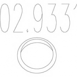 MTS 02.9331 Кольцо глушителя