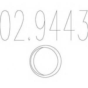 MTS 02.9443 Монтажное кольцо выхлопной системы