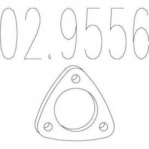 MTS 02.9556 Прокладка глушителя
