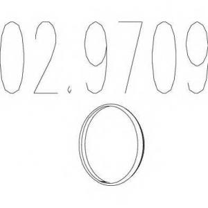 MTS 02.9709 Монтажное кольцо выхлопной системы