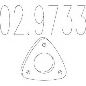 MTS 02.9733 Монтажное кольцо выхлопной системы