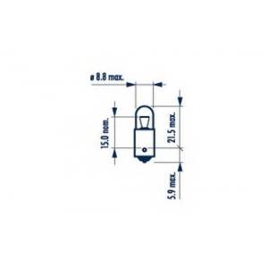 NARVA 17131 Лампа T4W 12V 4W BA9S T8,5X24,5