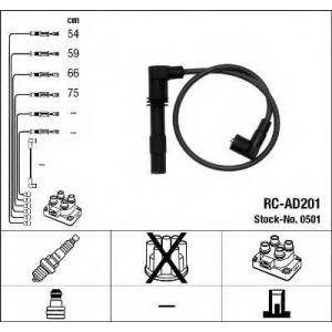Комплект проводов зажигания 0501 ngk - AUDI A3 (8L1) Наклонная задняя часть 1.8