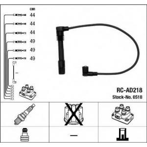 Комплект проводов зажигания 0518 ngk - AUDI A4 (8D2, B5) седан 2.6