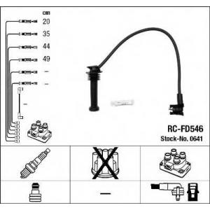 Комплект проводов зажигания 0641 ngk - FORD FIESTA III (GFJ) Наклонная задняя часть 1.8 16V