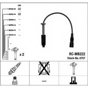 NGK 0757 Комплект проводів запалення