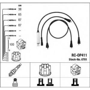 NGK 0781 Комплект проводів запалення