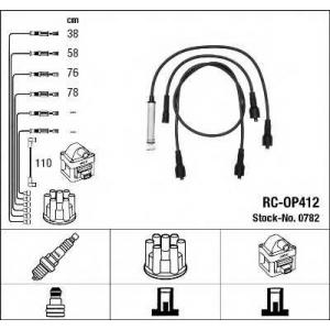 NGK 0782 Комплект проводів запалення