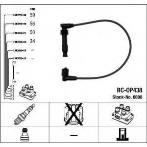 0808 ngk Комплект проводов зажигания OPEL CORSA Наклонная задняя часть 1.6 GSI 16V