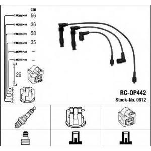Комплект проводов зажигания 0812 ngk - OPEL VECTRA A Наклонная задняя часть (88_, 89_) Наклонная задняя часть 1.6 i KAT