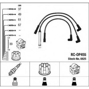 Комплект проводов зажигания 0825 ngk - OPEL KADETT D (31_-34_, 41_-44_) Наклонная задняя часть 1.2