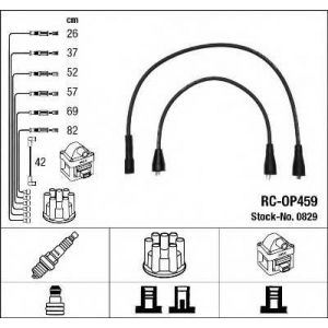 NGK 0829 Ккомплект проводов зажигания
