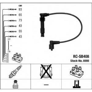 NGK 0898 Ккомплект проводов зажигания