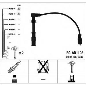 Комплект проводов зажигания 2348 ngk - AUDI A4 (8D2, B5) седан 1.8