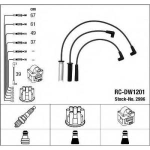 Комплект проводов зажигания 2996 ngk - DAEWOO ESPERO (KLEJ) седан 2.0