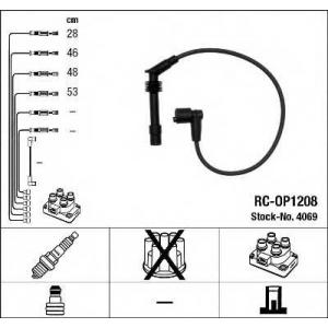 Комплект проводов зажигания 4069 ngk - OPEL VECTRA A Наклонная задняя часть (88_, 89_) Наклонная задняя часть 1.6 i