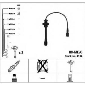 NGK 4104 Ккомплект проводов зажигания